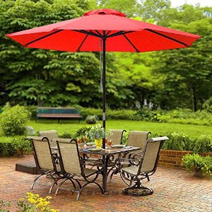 Cafe Style Umbrellas - Patio Umbrellas